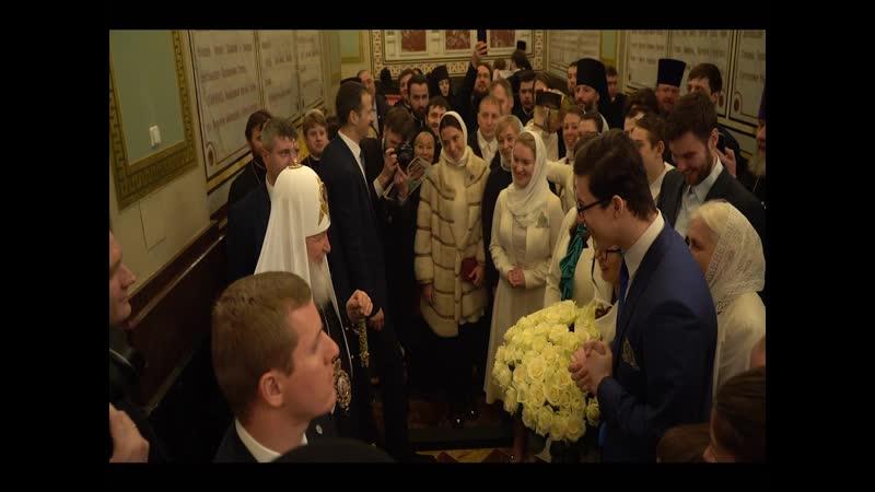 Кинокомпания «Союз Маринс Групп» на Патриаршей Литургии в Храме Христа Спасителя (интронизация Патриарха)