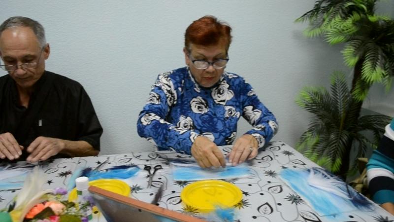 мастер класс по войлочной живописи в честь Международного дня пожилых людей смотреть онлайн без регистрации