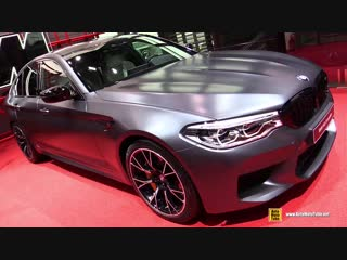 2019 BMW M5 Competition - Exterior and Interior Walkaround - Debut at 2018 Paris Motor Show