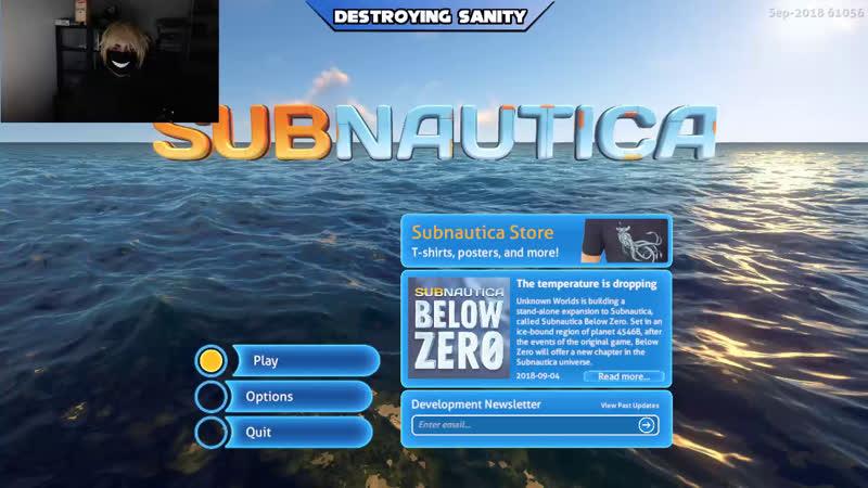 [ENG/ESP] Subnautica Hardcore Only!! Semi Blind!