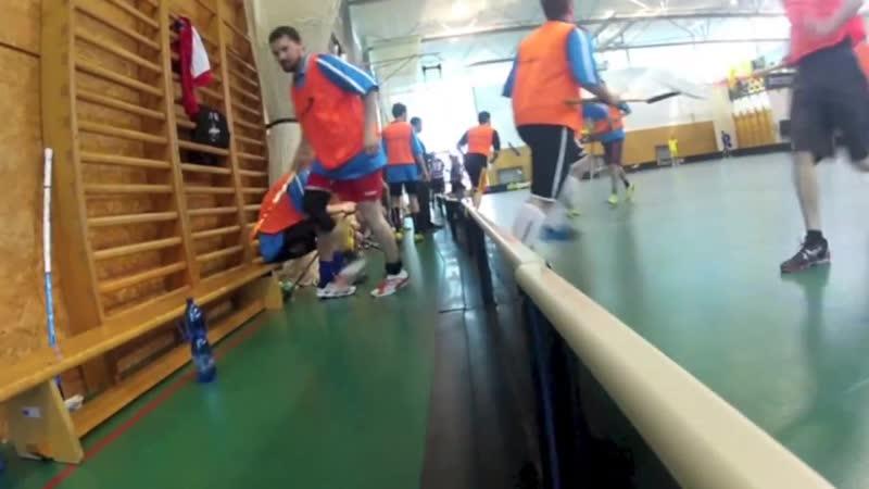 Floorball Player CUP 2013 GoPro - výběr ČR Neslyšících