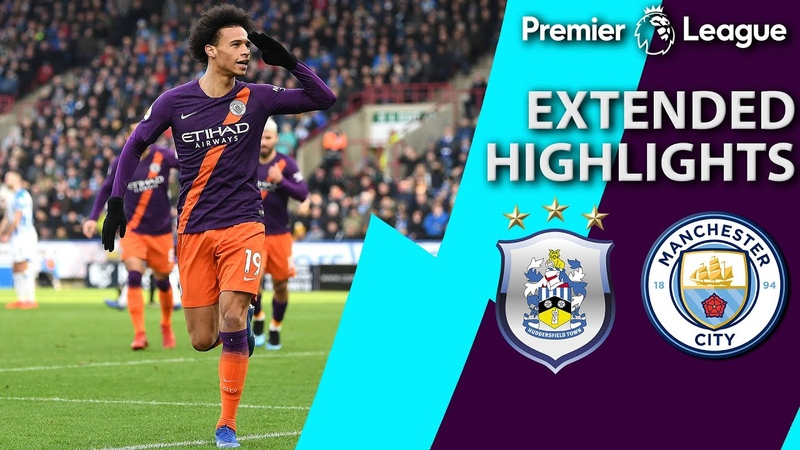 Huddersfield v Manchester City PREMIER LEAGUE EXTENDED HIGHLIGHTS 1 20 19 NBC Sports