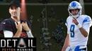 Peyton Manning Analyzes Matt Stafford's Josh Rosen's Pre snap Reads