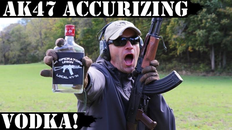 AK47 Accurizing Vodka - Shocking Results!