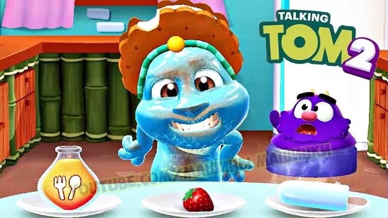 Мой Говорящий Том 2 НОВАЯ ИГРА 11 Друзья Анджела Хомяк My Talking Tom 2 Игровой мультик для детей