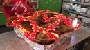 Table of Epoxy Fire Lava Стол из эпоксидной смолы Огненная Лава