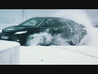 Самый неожиданный тест-драйв новой Toyota Camry. Часть 1