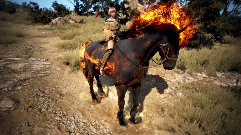 Black Desert - T9 Doom horse preview!