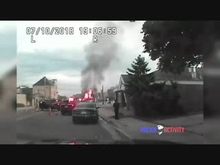 Видели как взрывается бытовой газ? Видео из США