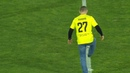 Хабиб Нурмагомедов нанес первый удар в матче Анжи - ЦСКА (видео)