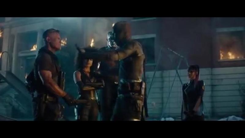 Deadpool 2 нож в писюне