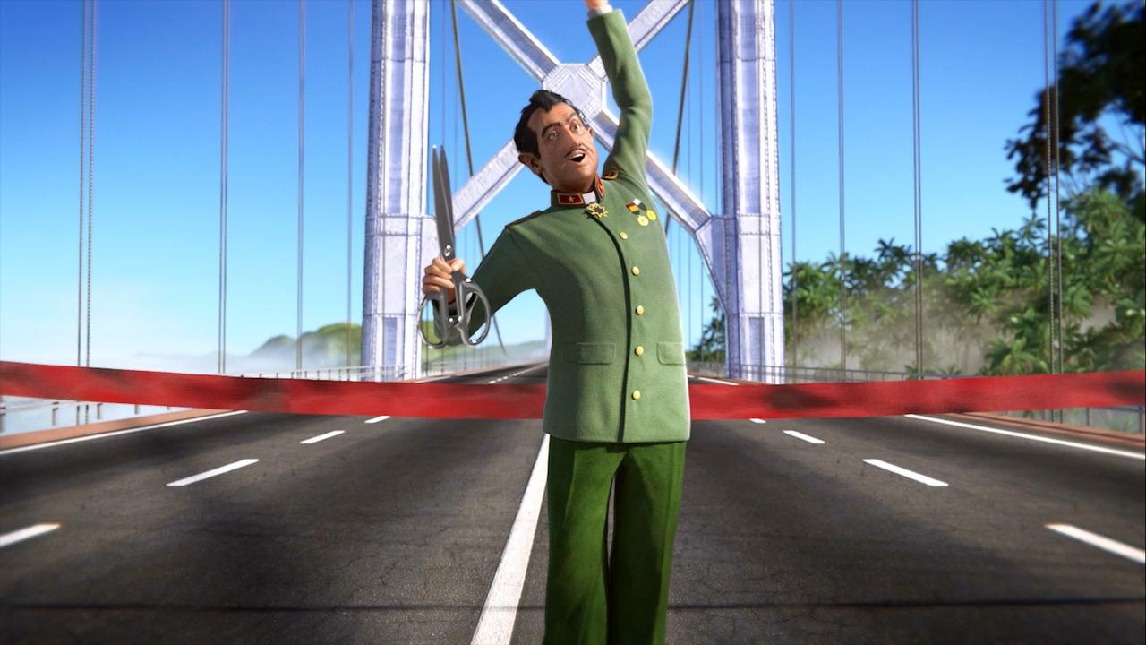 Открытие моста в Tropico 6
