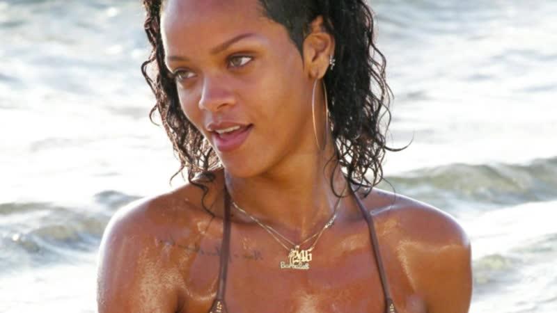 Подборка соблазнительной Рианны (Голая Rihanna)