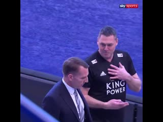 Brendan Rodgers has been spotted at the King Power Stadium! It seems it is a matter of time until @LCFC confirm the appointment