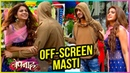 Jennifer Winget aka Zoya And Harshad Chopda aka Aditya Offscreen Masti | Bepanaah | TellyMasala