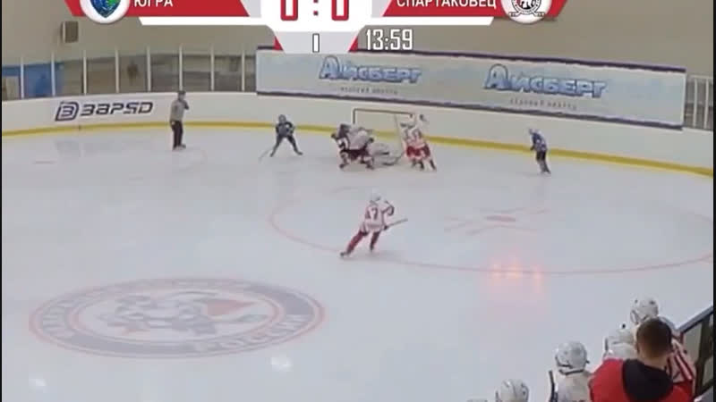 Никиткин гол в ворота «Спартаковцев» г. Екатеринбург