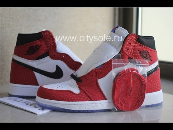 God Air Jordan 1 Retro High OG Origin Story Into the Spider Verse Ready to Ship from CitySole ru