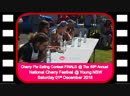 Wilders Bakery Cherry Pie Eating Contest @ The 69th Annual National Cherry Festival Young 01122018