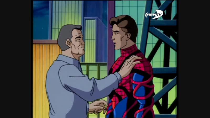 Человек паук 5 сезон 13 серия Паучьи войны часть 2 Прощай,Человек-Паук 09.06.2002