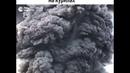 Извержение вулкана Эбеко на Курилах