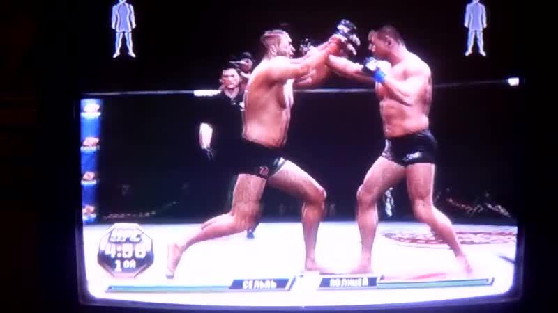 UFC 3 Heath Herring vs Mirko Filipović На совершенном уровне сложности