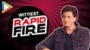 """Shah Rukh Khan """"Salman-Aamir, Yaaron ke Yaar"""" RAPID FIRE Zero"""