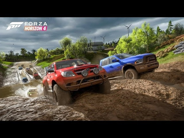 Forza Horizon 4 - 2016 TOYOTA LAND CRUISER AT37 - OFF-ROAD - 1080p60FPS