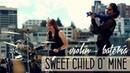 Guns N' Roses 💿en VIOLíN y BATERÍA!! (Sweet Child O' Mine) con SOLOS!!