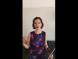 Hilary Hahn - Bach Sonata No.2 III. Andante