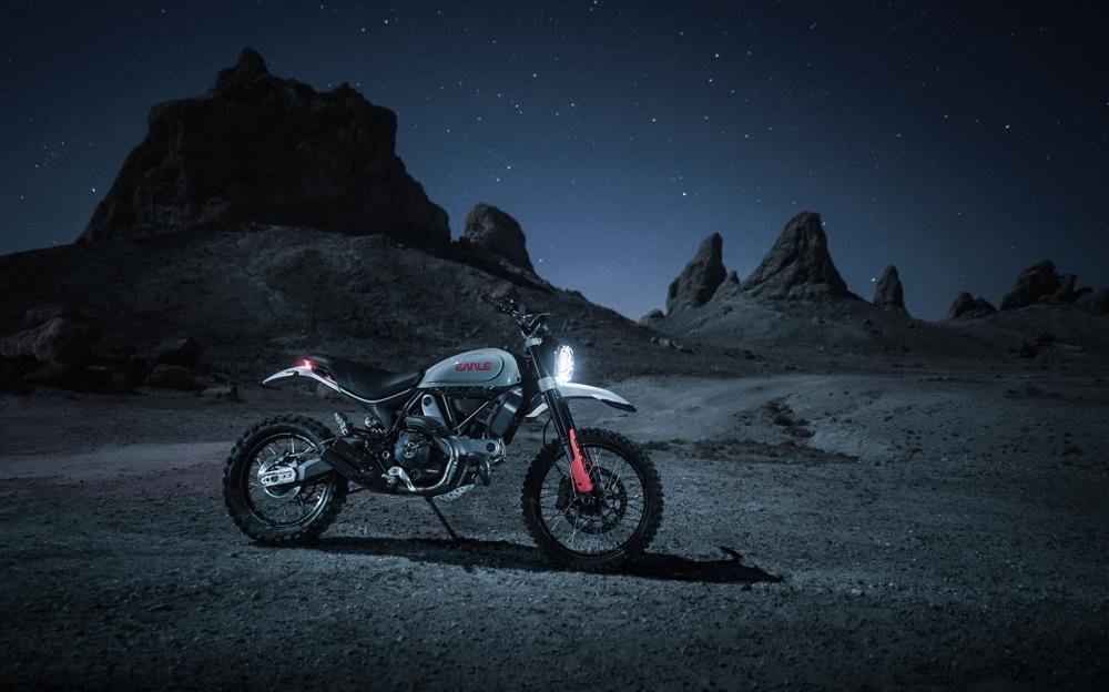 Earle Motors: кастом Alaskan Junior на базе Ducati Scrambler Desert Sled