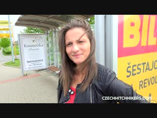 [czechhitchhickers] nicolette noir - waited for the bus