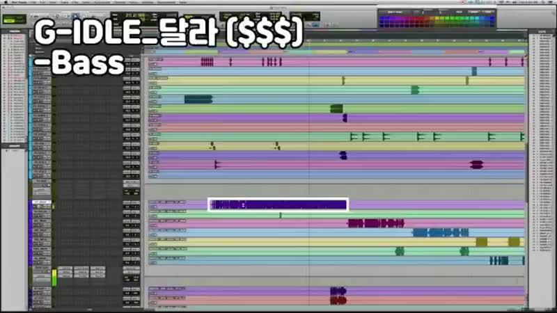 달라 작곡 비하인드에서 나온 소연 랩민니 보컬 모음 -.mp4