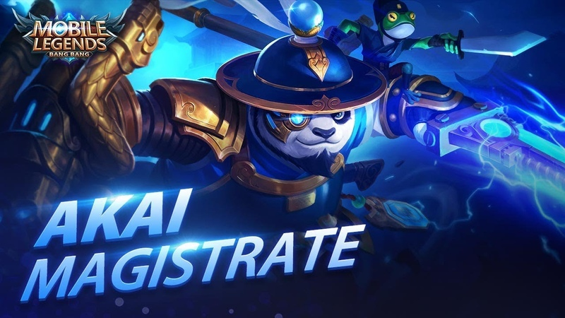 Akai New Skin | Magistrate | Mobile Legends Bang Bang!