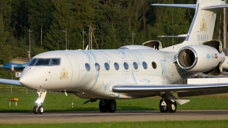 Amazing Short Take Off Gulfstream G650 Special Livery