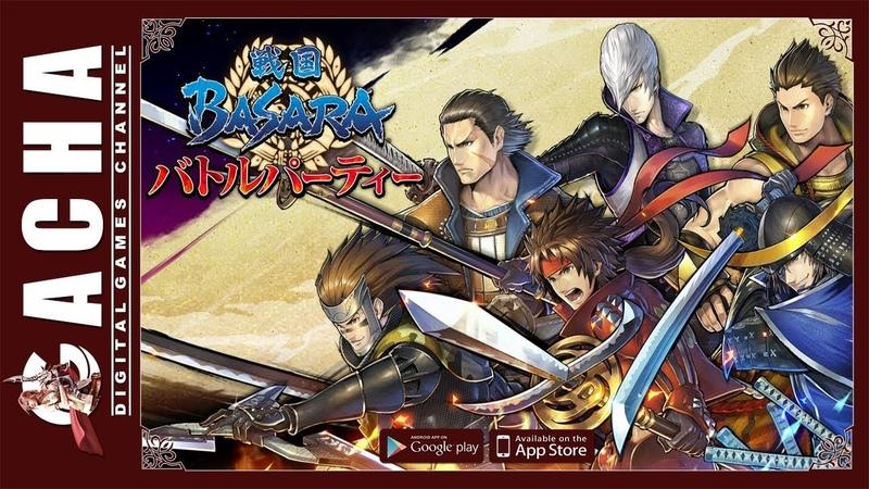 Sengoku Basara Battle Party 戦国BASARA バトルパーティー 🇯🇵 JP 📱 iOS Android 🎮 Gameplay