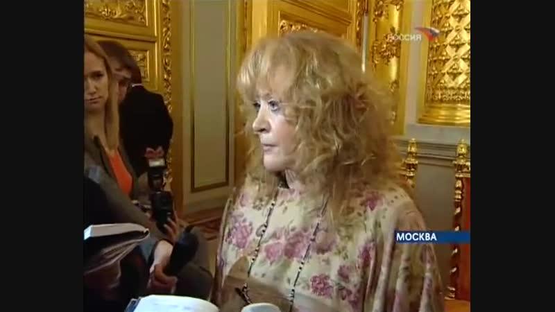 Алла Пугачева - Вести недели (22.01.2006)