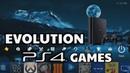 Evolution of PS4 Games 2013-2018