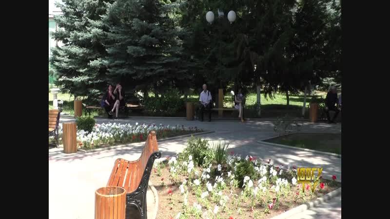 Красоты Цхинвала. Памятник Коста