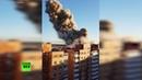 На заводе пиротехники под Санкт-Петербургом произошёл взрыв