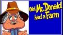 OLD MCDONALD HAD A FARM - with lyrics