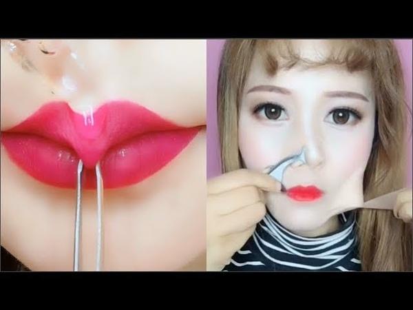 카메라에 찍히지 않았다면 믿을수 없는 메이크업 순간들 11 l Best Viral Asian Makeup Hacks and Transformations 201
