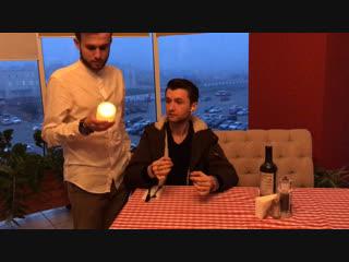 Фокус со свечей от Руслана Шанга