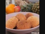 Супер быстрые и простые кокосовые печенья