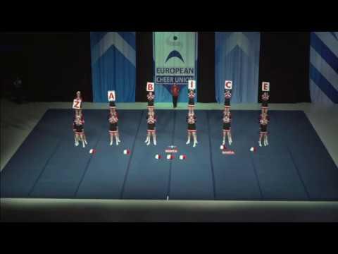 Cheerleading .Senior Cheer All Girl Premier Slovenia Frogs Slovenia.