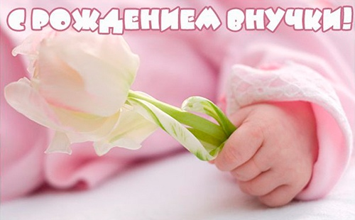 У меня родилась внучка: картинки, открытки, стихи на рождение внучки
