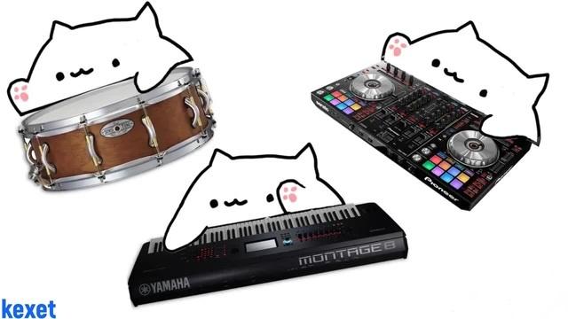 Bongo Cat Саня хуй соси · coub коуб