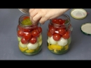 Маринованные помидоры Маринуем помидоры на зиму Маринованные помидоры черри с луком Pickled tomat