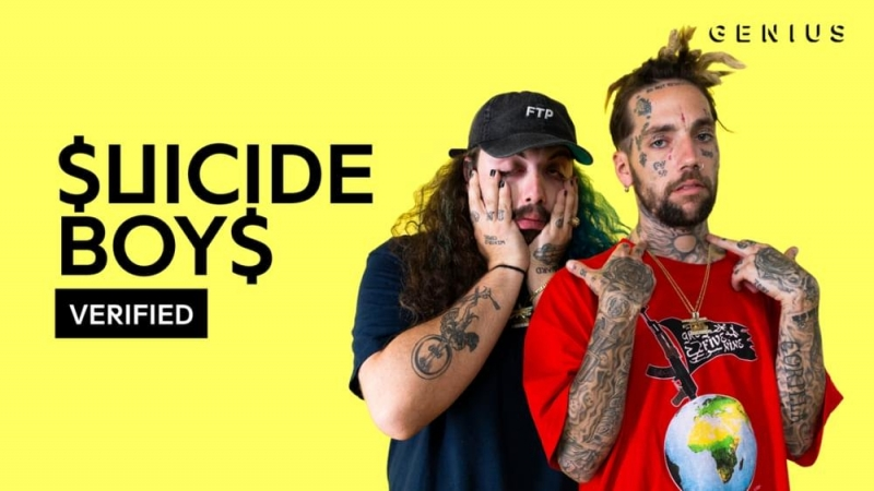$uicideBoy$ Carrollton Official Lyrics Meaning | Verified перевод rus subs