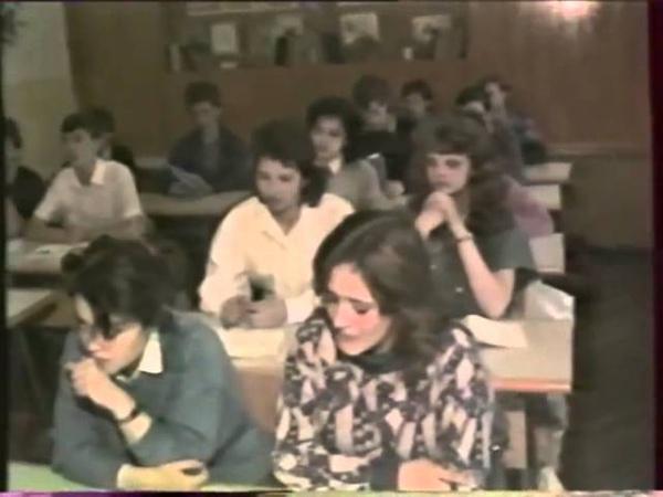 Вюнсдорф Wunsdorf Старшеклассники о Ленине и социализме 1991 год