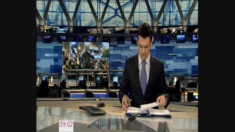 Новости (Первый канал, 05.12.2012) Выпуск в 9:00
